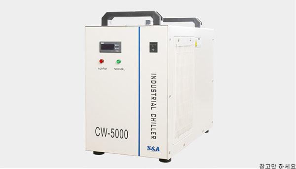 이산화탄소 레이저 조각기의 물 냉각 장치